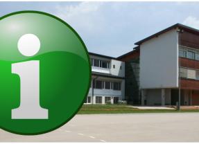 Obvestilo o zaprtju šole in vrtca