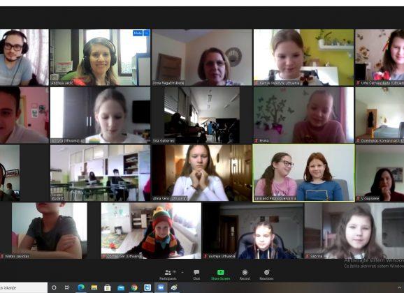 ERASMUS+: ZOOM srečanje učencev